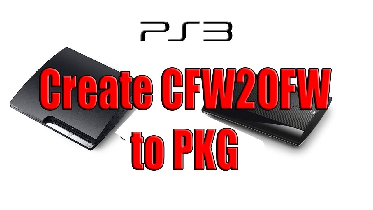 Create Game PKG From CFW2OFW - convert CFW2OFW to Pkg