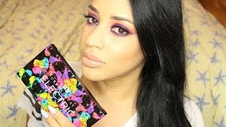 Urban Decay Electric Palette Makeup Tutorial & Giveaway Thumbnail