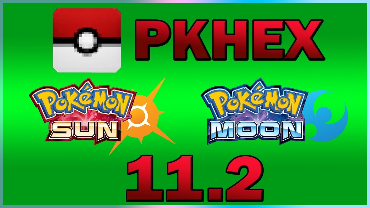 V112 How To Use Pkhex To Pokegen On Sun Moon Including Keyboard