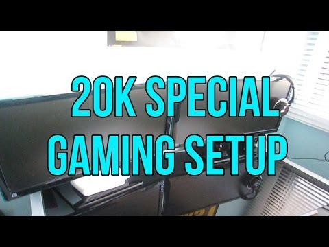 20K Subscriber Special - Gaming Setup