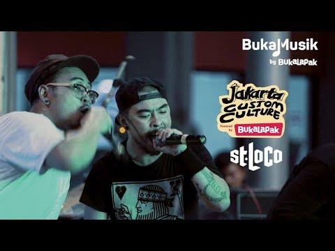 Saint Loco Live At Jakarta Custom Culture | BukaMusik