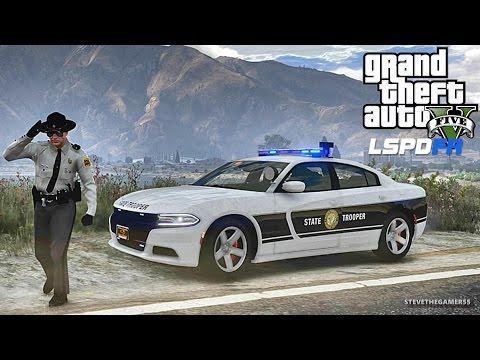 LSPDFR #473 NORTH CAROLINA PATROL!! (GTA 5 REAL LIFE POLICE PC MOD) NEW PACK