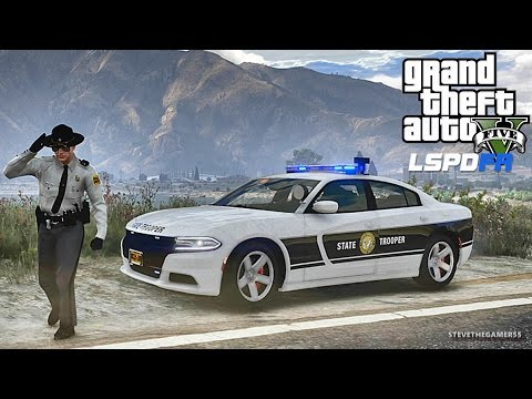LSPDFR #473 NORTH CAROLINA PATROL!! (GTA 5 REAL LIFE POLICE PC MOD) NEW PACK