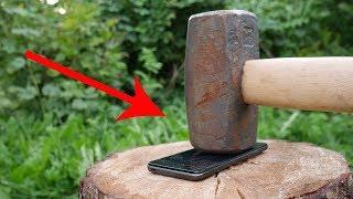 EXPERIMENT HAMMER vs SMARTPHONE thumbnail