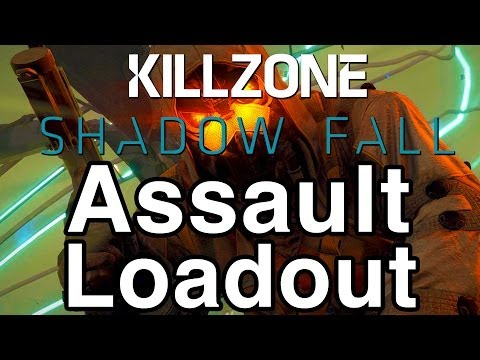 Killzone: Shadow Fall - Assault Loadout - Best Way To Play