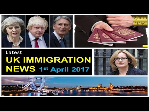 UK Immigration News 1st April 2017