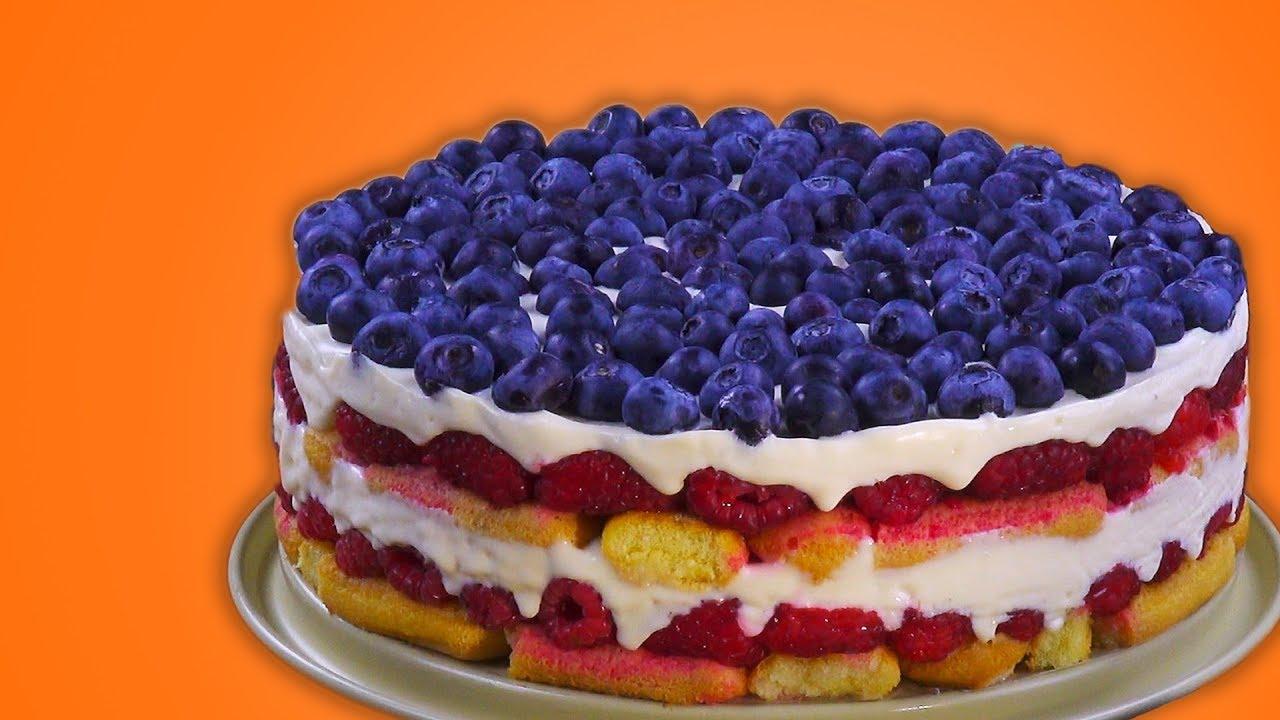 Бисквитный Торт С Ягодами: Готовим Идеальный Десерт Без Духовки