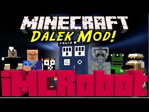 How to Install | Doctor Who Dalek Mod 1.7.10 | Under Five Minutes!