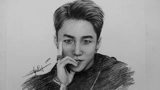 Son Tung MTP Pencil Drawing _ Vẽ Sơn Tùng MTP _ DP Truong
