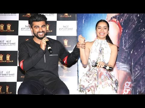 Thumbnail: Half Girlfriend Trailer 2017 Launch | Arjun Kapoor, Shraddha Kapoor, Mohit Suri