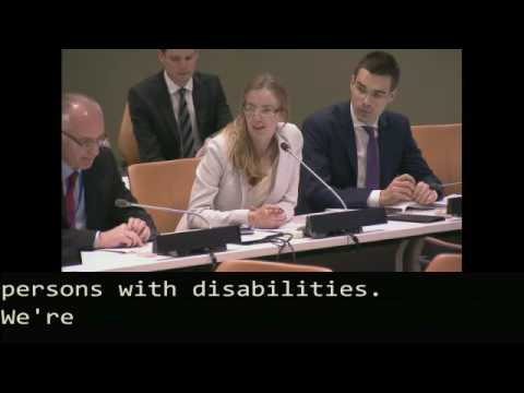 UN CRPD Council of States Parties to the Convention NHRI Side Event 14 June 2016