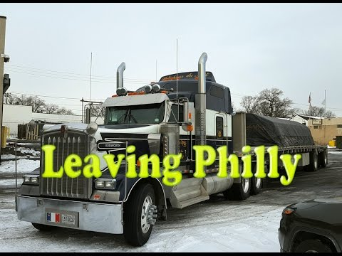 Leaving Philadelphia in the W900L