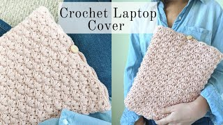 Easy Crochet Laptop Cover - DIY Laptop Case/Sleeve