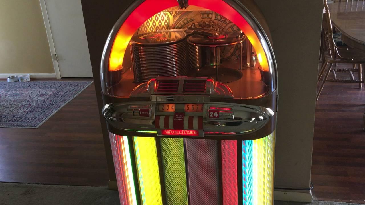 Wurlitzer 1100 Jukebox, We buy them, Laverne Baker - Still