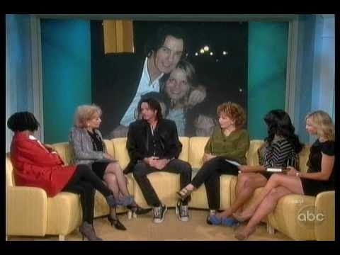 Rick Springfield On The View 10-13-10