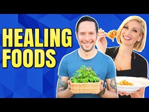 HEALING FOODS AND RECIPES / VEGAN COOKING