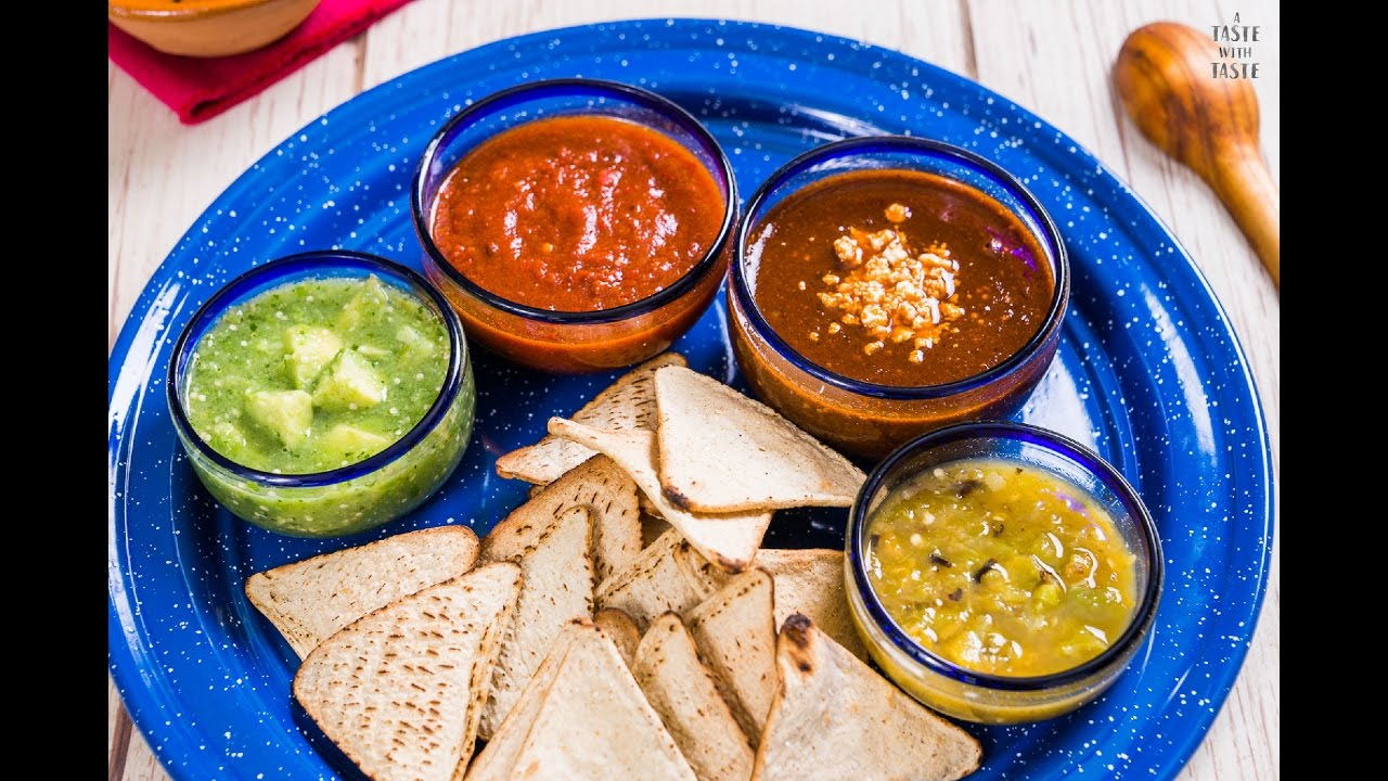 Resultado de imagen para salsa tradicional mexicana