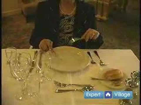 Dinner Etiquette Proper Table Manners For Using A Knife Continental Style