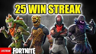 FORTNITE INDONESIA REKOR WINSTREAK | FAST FORWARD KE 1:30:00 | GIVEAWAY 3000 V-BUCKS
