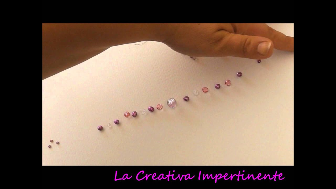 Wire Crochet Bijoux Con Luncinetto N 3 Tutorial Catenella Con
