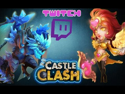 Castle Clash Lost BattleField And Guild Wars! Twitch Stream!