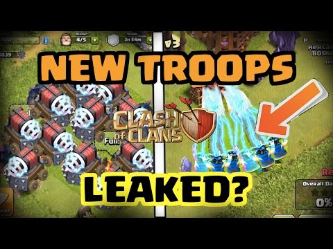 Thumbnail: IS THIS A NEW TROOPS UPDATE LEAK?! | Electro Wizard & Sparky? | Clash of Clans