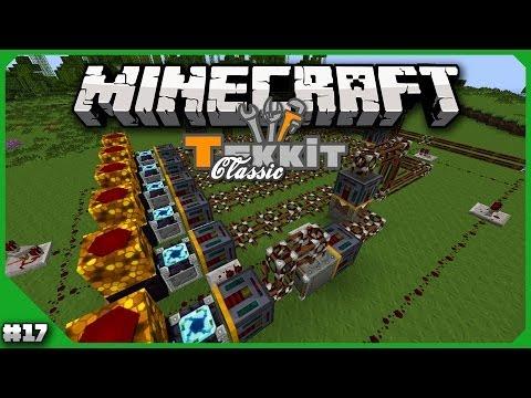 Minecraft - Tekkit Classic - Episode 17 - Solar Panel Factory