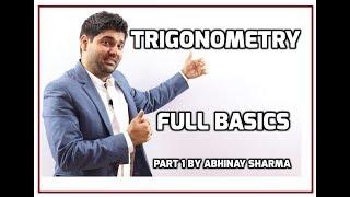 Trigonometry Full Basics | Trigonometry Solutions | Trigonometry By Abhinay Sharma ( Abhinay Maths) thumbnail