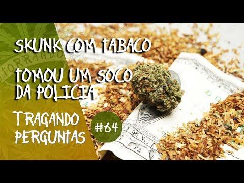 Tomou soco da POLICIA e Kunk com Tabaco - Tragando Pergundas #64