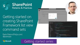 Getting started on creating SharePoint Framework list view command sets