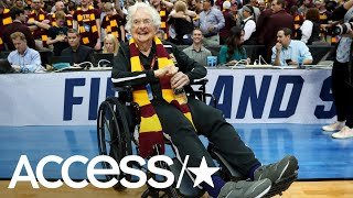 Team Chaplain for Loyola University-Chicago, 98-year-old Sister Jea...