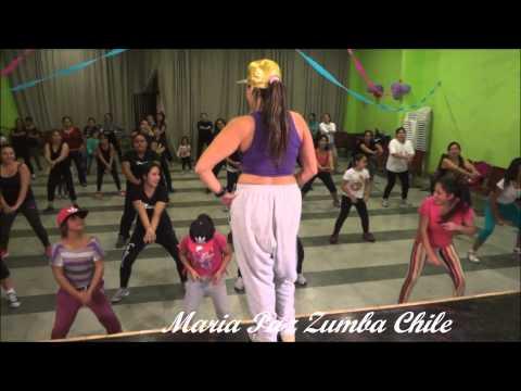 Maria Paz Zumba Chile Bum Bum No Chao BRAZIL