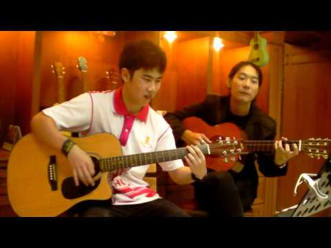 Sky Music บางแค (สอนกีต้าร์ อูคู เบส อื่นๆ 400บาท/เดือน ) - วิน ( หมอกหรือควัน )