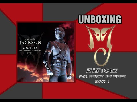 CD Michael Jackson: HIStory: Past, Present And Future – Book I - UNBOXING