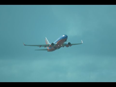 Southwest Airlines ISP to PBI Full Flight!