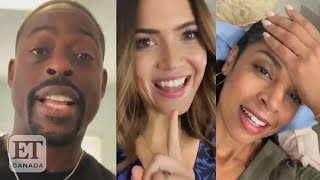 'this Is Us' Cast Reacts To S4 Premiere