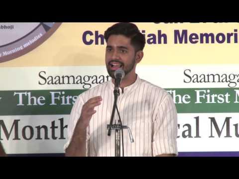 2016 - Savishkar Concerts - Carnatic Vocal by Aswatnarayan