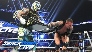Download Video Rey Mysterio attacks Randy Orton with a chair: SmackDown LIVE, Dec. 11, 2018 MP3 3GP MP4