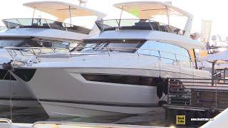 2019 Prestige 630 Luxury Yacht - Deck and Interior Walkaround - 2018 Cannes Yachting Festival
