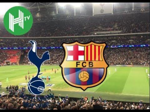 Live ???? | Tottenham vs Barcelona | Wembley Stadium | Champions League