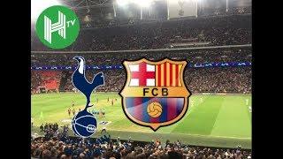 Live 🔴 | Tottenham vs Barcelona | Wembley Stadium | Champions League