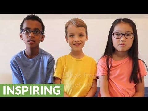 Sweet little kids tell the story of Easter