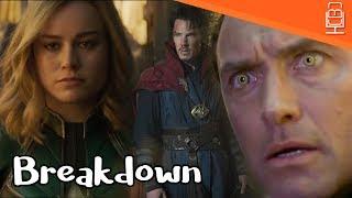 Captain Marvel Official Trailer Breakdown