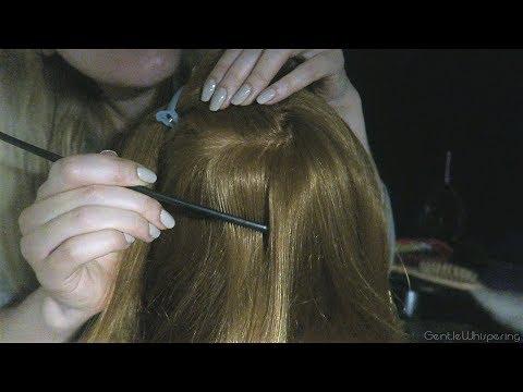 Heavenly HAIR ATTENTION • ASMR • Whisper