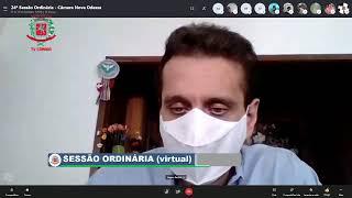 24ª Sessão Ordinária (virtual) - 13/10/2020