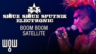 Whitby Goth Weekend - Sigue Sigue Sputnik Electronic - 'Boom Boom Satellite' Live Resimi