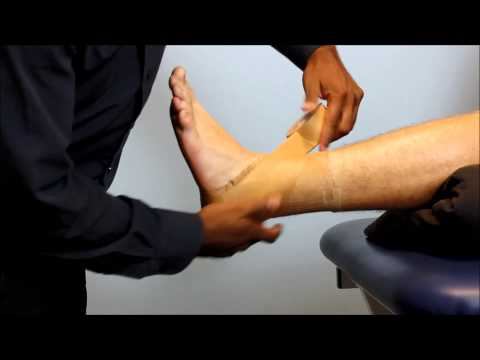 How To Tape An Ankle For Sport By My Physio SA Physiotherapist Adelaide