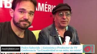 Pedro Saborido  La creatividad es un mito, no existe