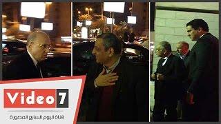 وزير قطاع الأعمال ويحيى قلاش والعدوى يشاركون فى عزاء طارق الغزالى حرب