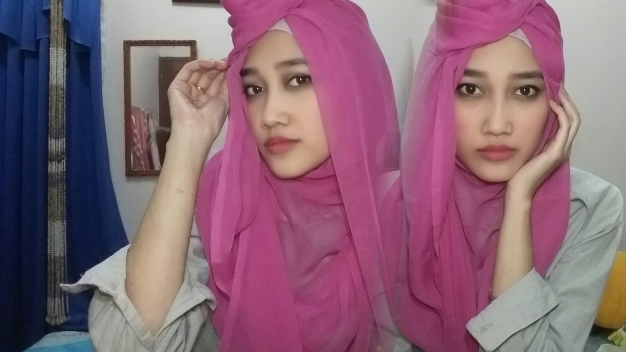 Tutorial Hijab Segiempat 2017 YouTube